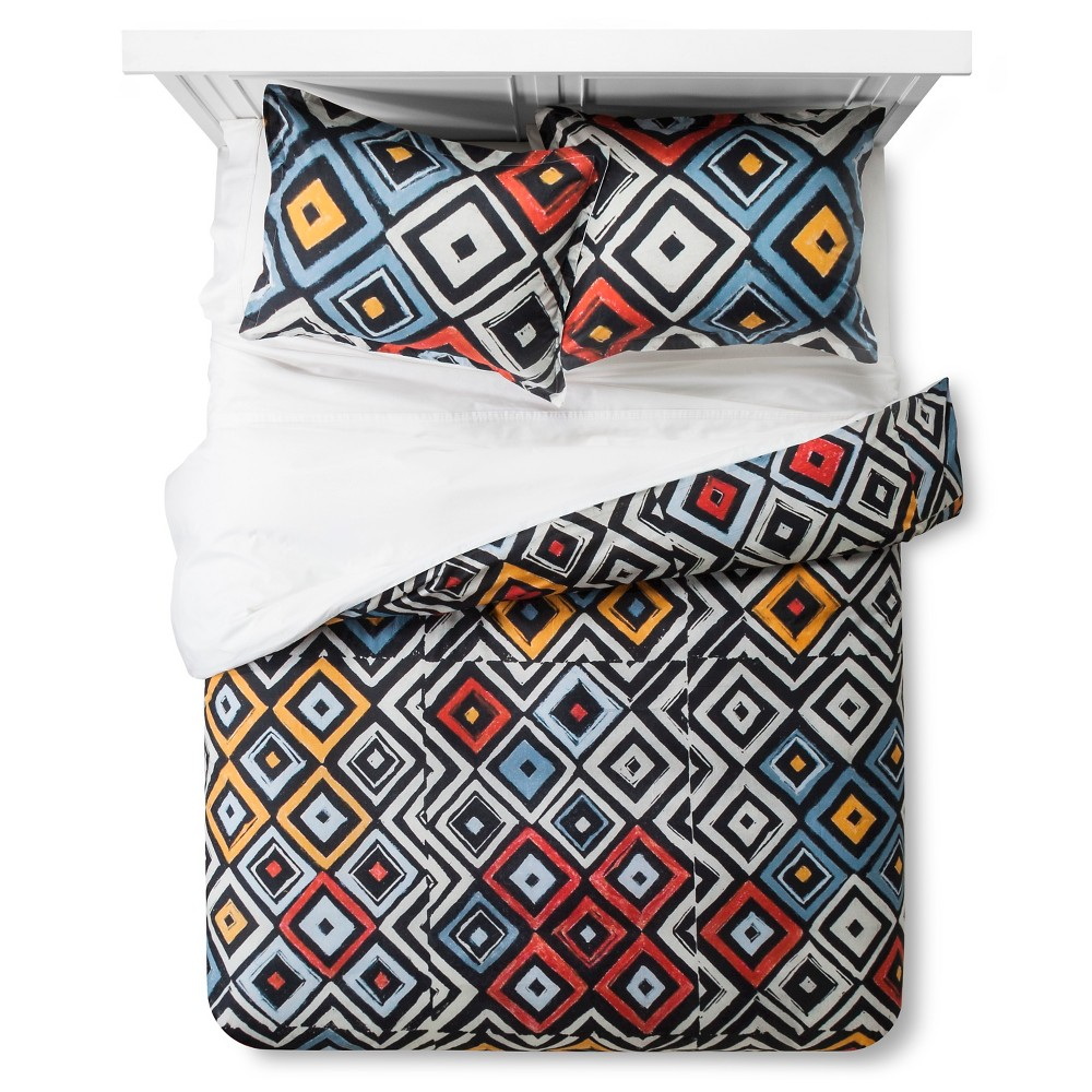 Image of Artwork Series: 'Ambiguous' by Wes & Joan Yeoman Duvet Cover Set (King) - AiR, Multicolored