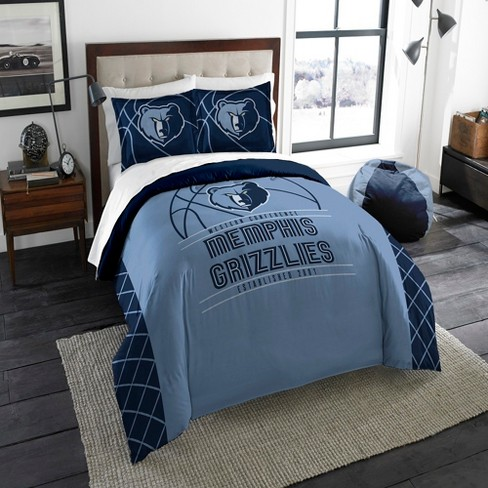 5ceb7899196 NBA Memphis Grizzlies Northwest Reverse Slam Full Queen Comforter ...