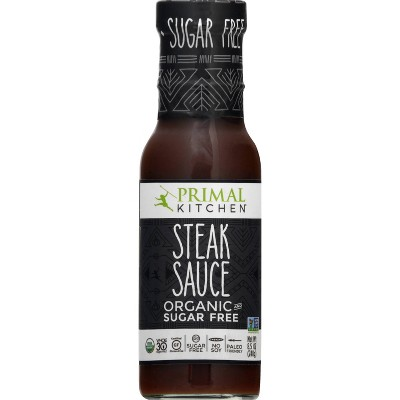 Primal Kitchen Organic and Sugar Free Steak Sauce - 8.5 fl oz