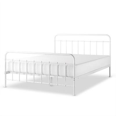 Mattress Foundation No Box Spring... Zinus Florence Metal Platform Bed Frame