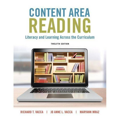 Content Area Reading - (What's New in Literacy) 12th Edition by  Richard Vacca & Jo Anne Vacca & Maryann Mraz (Mixed media product) - image 1 of 1