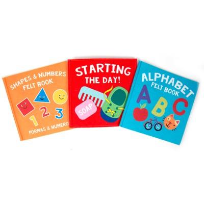 3pk Felt Learning Books - Ages 3+ - Bullseye's Playground™