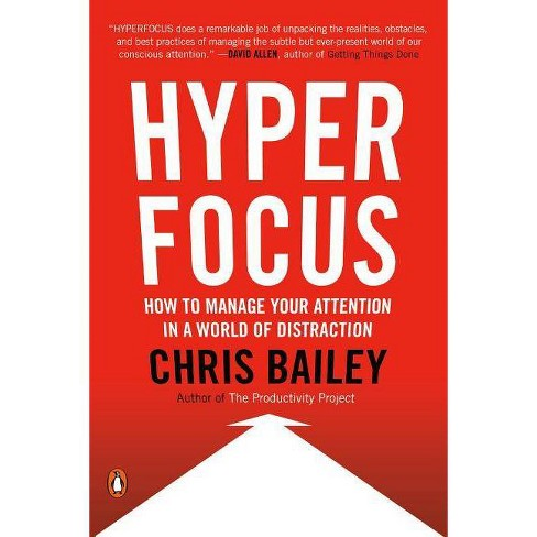 Hyperfocus - by  Chris Bailey (Paperback) - image 1 of 1