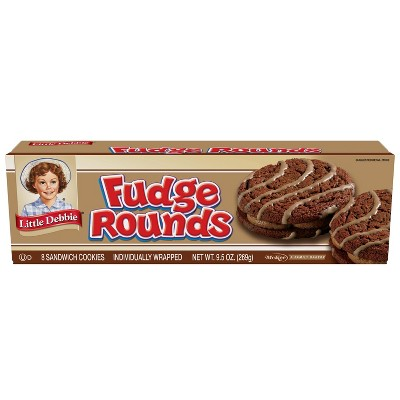 Little Debbie Fudge Rounds - 8pk/9.5oz