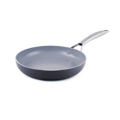 """GreenPan Paris 8"""" Aluminum Open Fry Pan"""