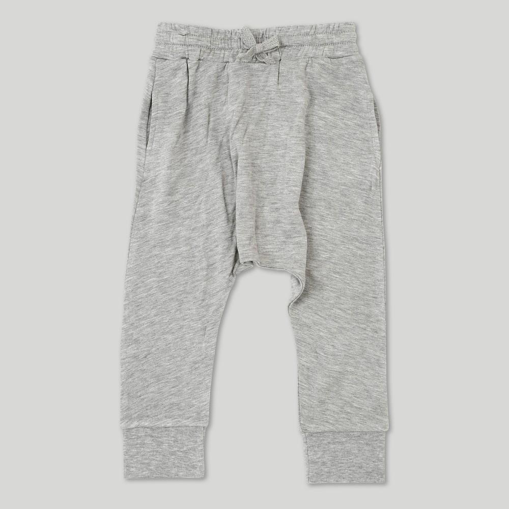 Toddler Boys' Afton Street Fleece Jogger - Gray 4T