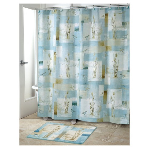 Blue Waters Shower Curtain Blue - Avanti® - image 1 of 1