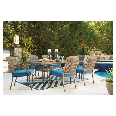 Partanna Rectangle Dining Table     Outdoor By Ashley : Target