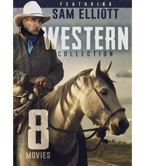 8 Movie Western Collection Featuring (DVD) - image 1 of 1