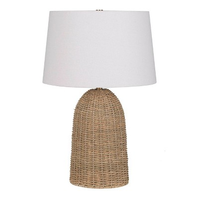 Large Seagrass Table Lamp Brown - Threshold™ designed with Studio McGee