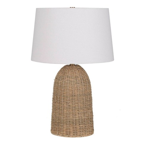 Large Seagrass Table Lamp Natural - Threshold™ designed with Studio McGee - image 1 of 2