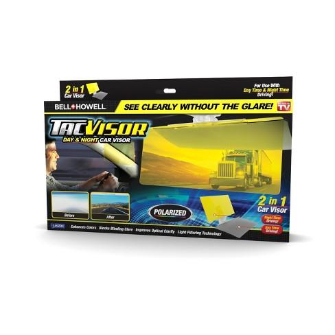 As Seen On TV TacVisor 2-in-1 Day Night Car Visor   Target 81167d21832