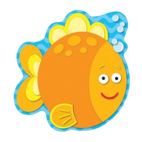 Carson-Dellosa Fish Notepad, 5-3/4 x 6 Inches, 50 Sheets - image 1 of 1