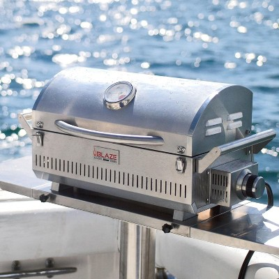 Blaze Professional Marine Grade Portable Propane Gas Grill BLZ-1PRO-PRTMG-LP