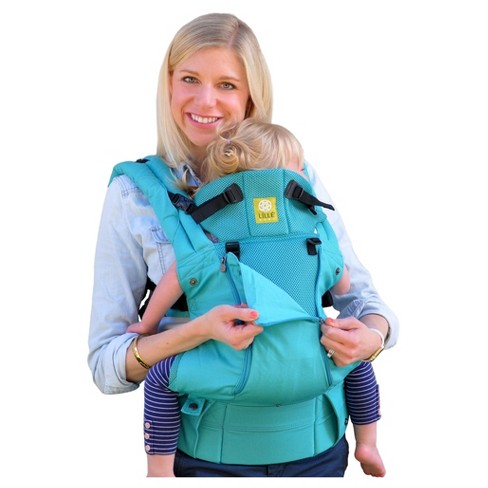 Lillebaby Complete All Seasons Carrier Turquoise Target