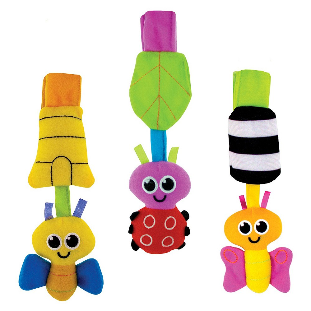 Image of Sassy Go-Go Bugs Stroller/Car Seat Toy