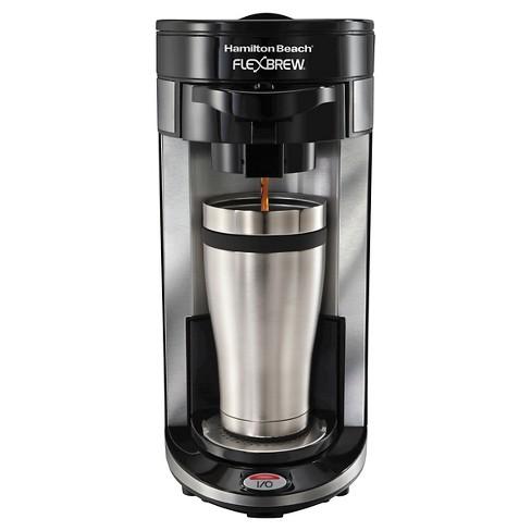 Hamilton Beach Re Certified Flexbrew Single Serve Coffee Maker