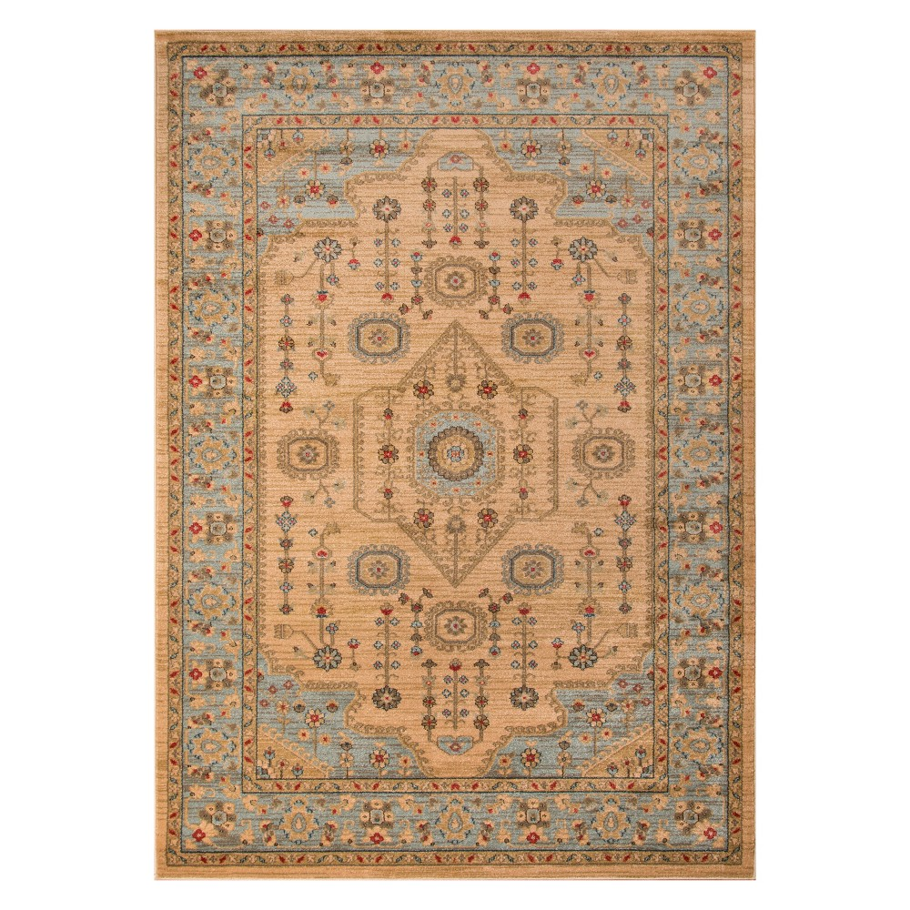 2'X3' Holly Loomed Accent Rug Beige - Momeni