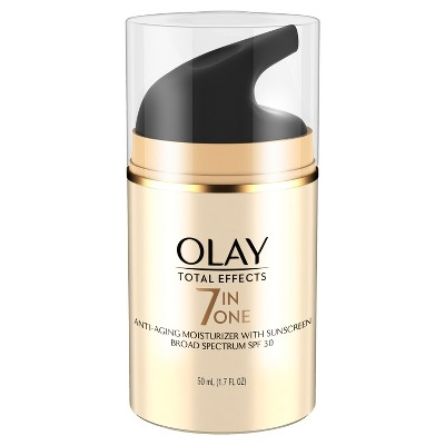Olay Total Effects 7-in-1 Anti-Aging Daily Moisturizer - SPF 30 - 1.7 fl oz