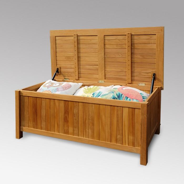Sherwood Teak Storage - Light Brown - Cambridge Casual - image 1 of 6