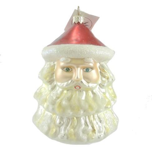 Christopher Radko Trimmed St Nick Ornament Santa Christmas - image 1 of 2