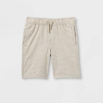 Boys' Twill Pull-On Shorts - Cat & Jack™ Beige