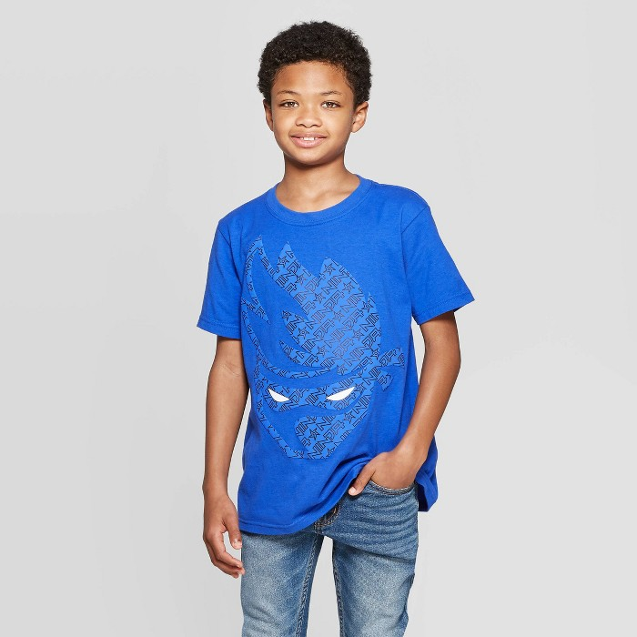 Boys' Team Ninja Large Logo Short Sleeve T-Shirt - Royal Blue - image 1 of 3