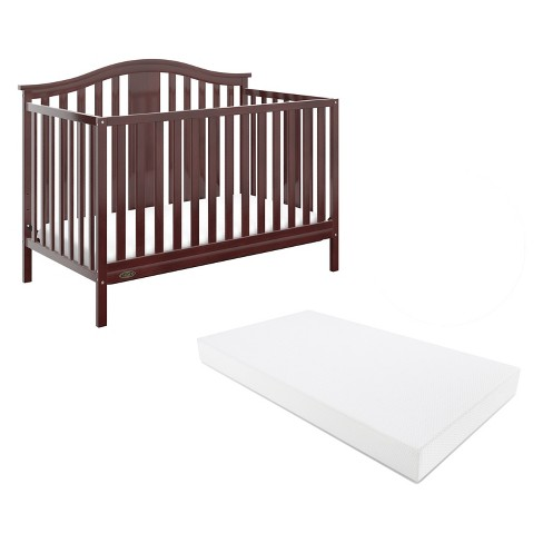 Graco Solano 4-in-1 Convertible Crib with Bonus Mattress - image 1 of 9