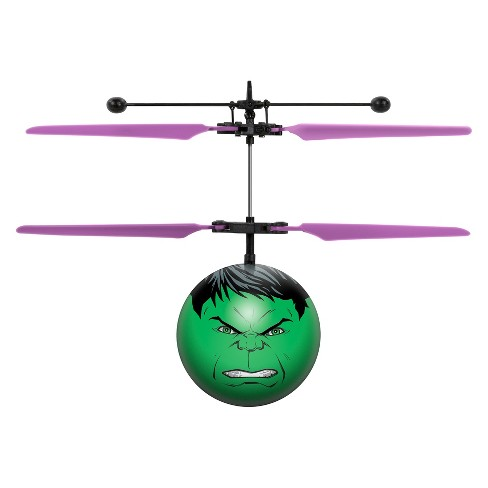 Marvel Avengers Hulk IR UFO Ball Helicopter - image 1 of 3