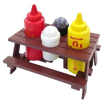 Mr. Bar-B-Q Picnic Table Condiment Set