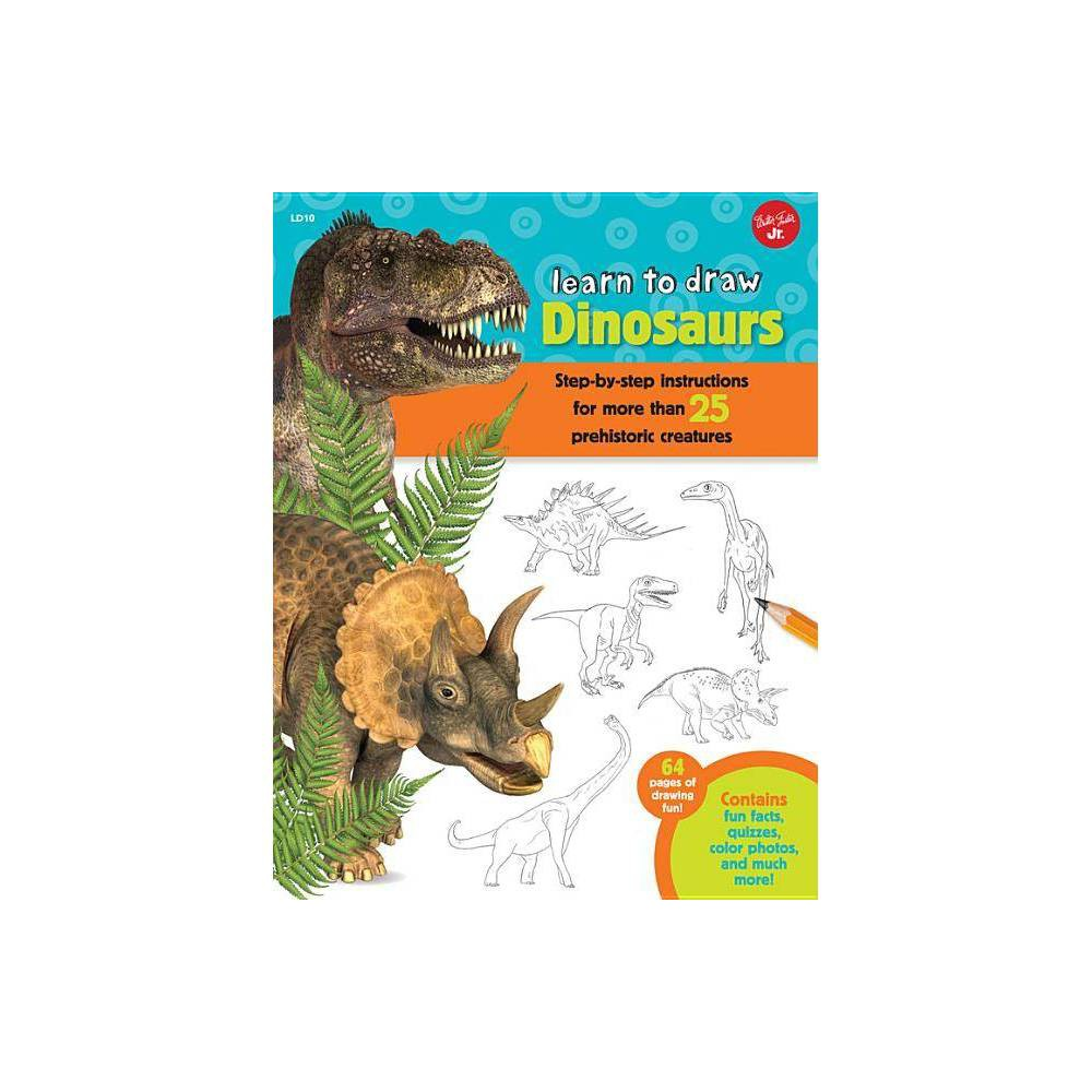 Learn To Draw Dinosaurs By Robbin Cuddy Paperback