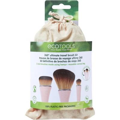 EcoTools 360 Ultimate Travel Brush Kit - 5pc
