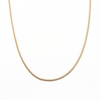 Sanctuary Project Dainty Thin Chain Necklace Gold