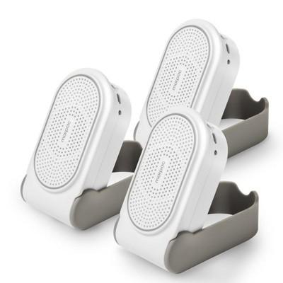 Yogasleep Go Travel White Noise Sound Machine, White, Bundle of 3