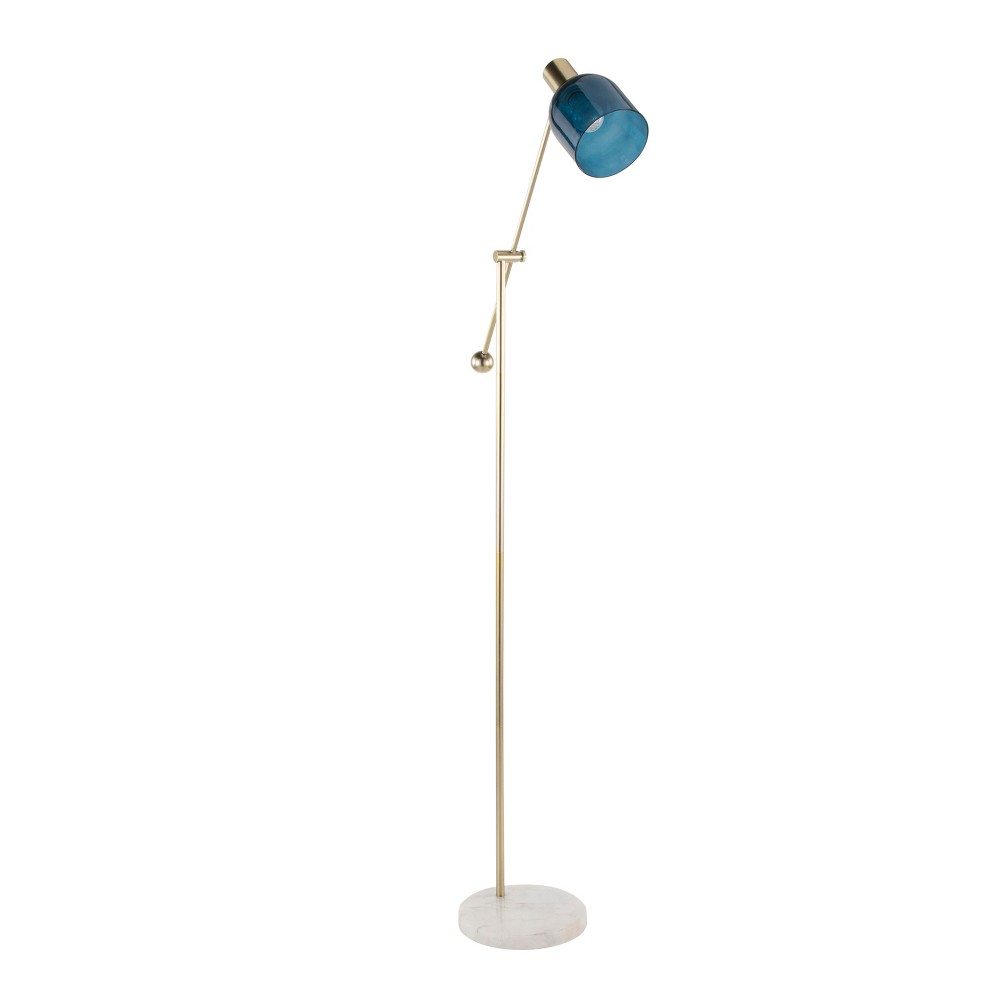 Best Online Marcel Contemporary Floor Lamp White Lamp Only LumiSource