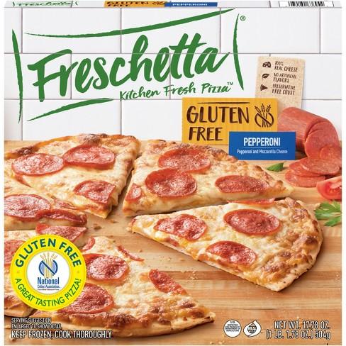 Freschetta Gluten Free Pepperoni Frozen Pizza - 17.78oz - image 1 of 4