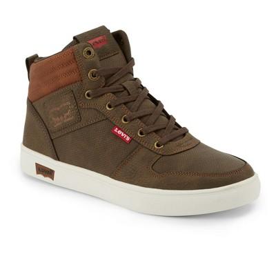 Levi's Mens Liam Wx Rubber Sole Casual High Top Fashion Sneaker Shoe