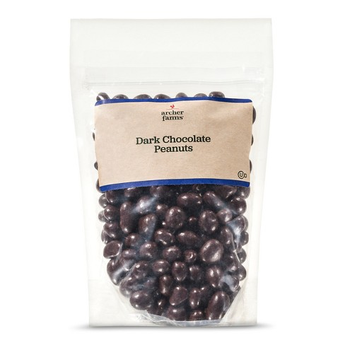 Dark Chocolate Covered Peanuts 12oz - Archer Farms™ - image 1 of 1