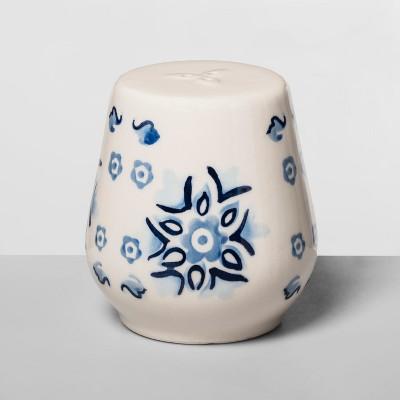 Stoneware Pepper Shaker Blue/White - Opalhouse™