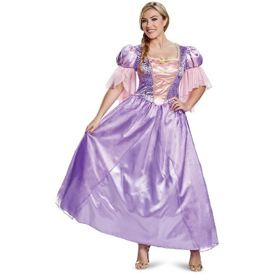 Tangled Rapunzel Deluxe Adult Costume (Classic Addition)