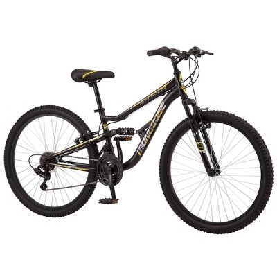 "Mongoose Men's Standoff 26"" Mountain Bike - Black"