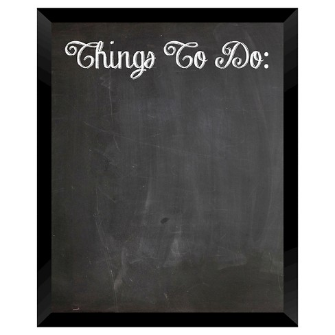 Things To Do Chalkboard - Black - image 1 of 1