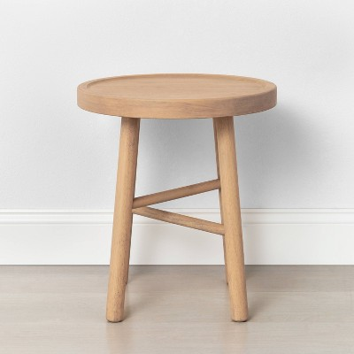 Shaker Accent Table or Stool Natural - Hearth & Hand™ with Magnolia