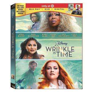 A Wrinkle In Time Target Exclusive (Blu-ray + DVD + Digital)