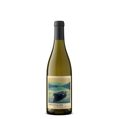 Photograph Chardonnay White Wine - 750ml Bottle