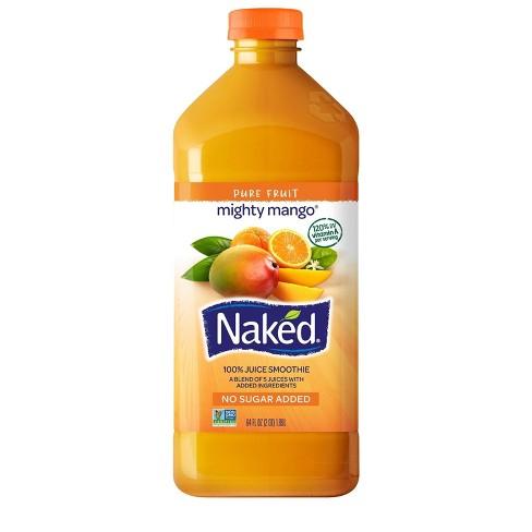 Naked® Mighty Mango® 100% Fruit Juice Smoothie Reviews 2020