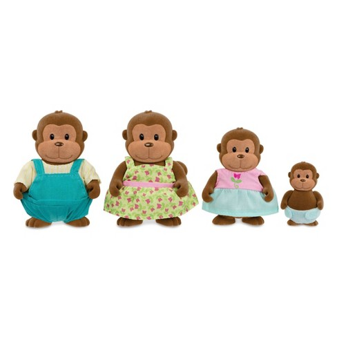 Li'l Woodzeez Monkey Family Set - image 1 of 4