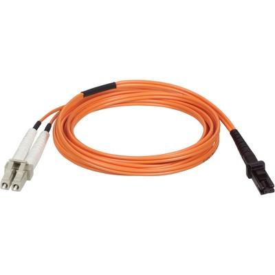 Tripp Lite 1M Duplex Multimode 62.5/125 Fiber Optic Patch Cable MTRJ/LC 3' 3ft 1 Meter - MT-RJ Male - LC Male - 3.28ft