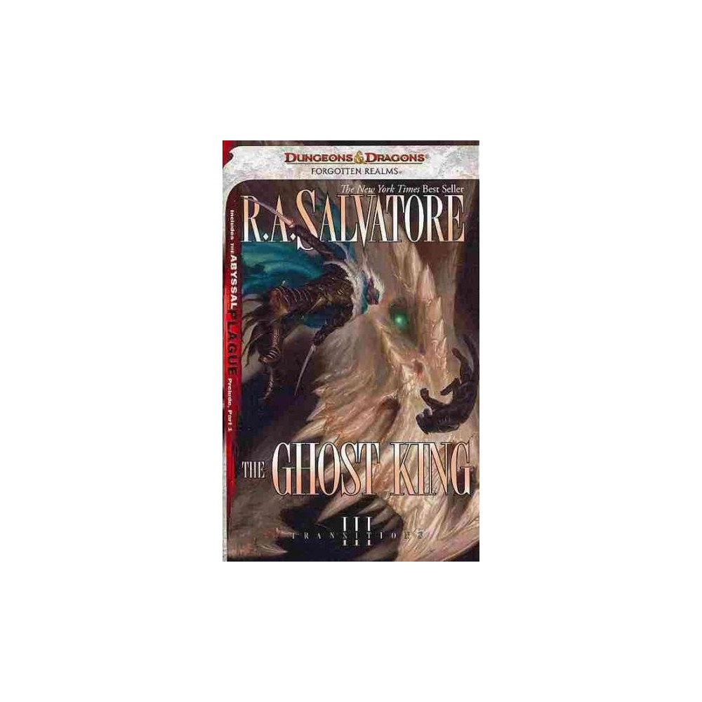 Ghost King - Reprint (Legend of Drizzt) by R. A. Salvatore (Paperback) Ghost King - Reprint (Legend of Drizzt) by R. A. Salvatore (Paperback)