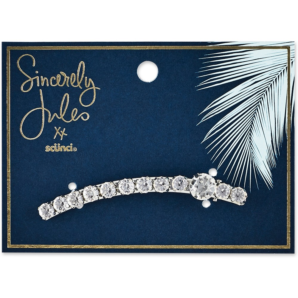 Image of Sincerely Jules by Scünci Crystal Salon Clip - 8cm